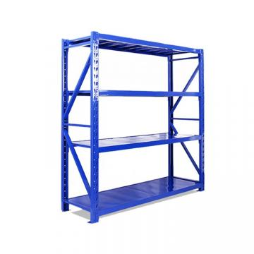 BSCI 4 Shelf Commercial Adjustable Steel Shelving Systems Storage Racks