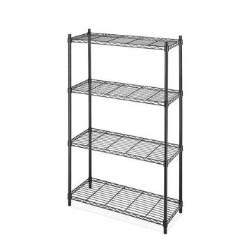 Adjustable 6 Tiers Chrome Metal Plant Storage Rack Microgreens Growing Wire Shelving