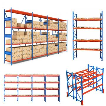 Industrial Metal Anti Corrosive Heavy Duty Selective Pallet Storage Warehouse Stacking Racking for Solutions Manufacturer